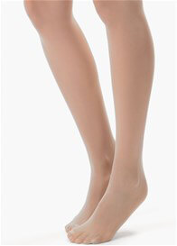 Queen Bee Ultra Sheer Nude Belly Support Maternity Pantyhose by Blanqi