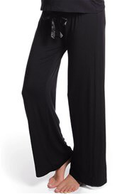 Queen Bee My Darling Black Maternity Lounge/Sleep Pants by HOTmilk