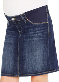 Queen Bee Rosanne Maternity Denim Skirt in Indigo Nolita by Mavi