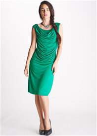 Queen Bee Margueritte Green Breastfeeding Dress by Floressa Clothing