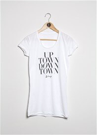 Blanqi - Uptown Downtown T-Shirt in White