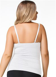Queen Bee Coconut White Gelato Maternity Nursing Tank by Cake Lingerie