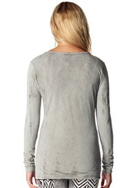Queen Bee Mud Maternity T-Shirt in Dove Grey by Supermom Maternity Clothes