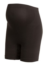 Queen Bee Seamless Maternity Underwear Long Shorts in Black by Noppies