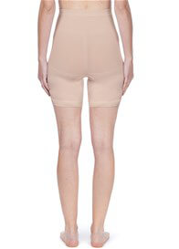 Queen Bee Seamless Maternity Underwear Long Shorts in Nude by Noppies