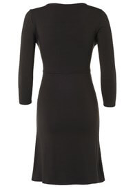 Queen Bee Elias Maternity Nursing Dress in Charcoal by Noppies