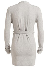Queen Bee Carline Maternity Cardigan in Light Grey by Noppies