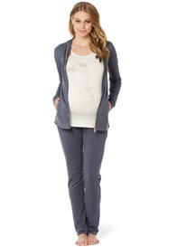 Queen Bee Emily Maternity Lounge Pants in Shadow by Noppies