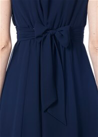 Queen Bee Liane Maternity Cocktail Dress in Dark Blue by Noppies