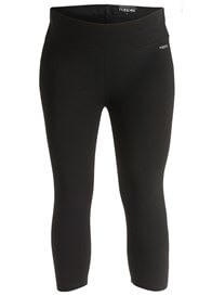 Queen Bee Amsterdam Maternity Capri Legging in Black by Noppies