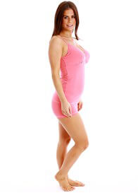 Queen Bee Nadia Boyleg Maternity Underwear Briefs in Pink by QueenBee