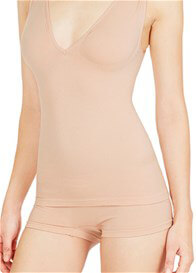 Queen Bee Extra Low V-neck Maternity Shapewear Tank by Nearly Nude