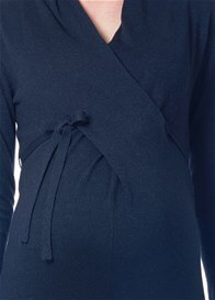 Queen Bee Zara Knit Maternity Dress in Dark Blue by Noppies