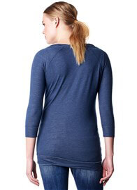 Queen Bee Nia Adventure Maternity Sweatshirt in Blue by Noppies