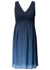 Queen Bee Bliss Maternity Cocktail Party Dress in Dark Blue by Noppies