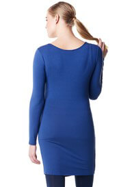 Queen Bee Flo Maternity Nursing Tunic in Blue by Noppies