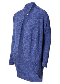 Queen Bee Lucy Maternity Knit Cocoon Cardigan in Blue by Noppies