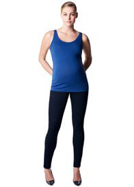 Queen Bee Amsterdam Maternity Tank Top in Blue by Noppies