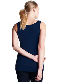 Queen Bee Amsterdam Maternity Tank Top in Dark Blue by Noppies