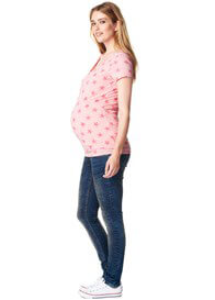 Queen Bee Blue Skinny Maternity Jeans by Supermom