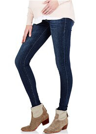 Queen Bee Reina Gold Dark Reform Super Skinny Maternity Jeans by Mavi