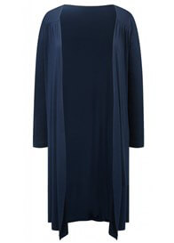 Queen Bee Mandy Maternity Cardigan in Navy Blue by Amoralia