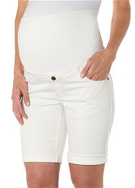 Queen Bee Maternity Bermuda Shorts in Off-White by Esprit