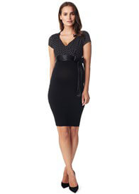 Queen Bee Zarita Maternity Dress in Black by Noppies