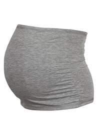 Queen Bee Reversible Maternity Belly Band in Black/Grey by Trimester Clothing