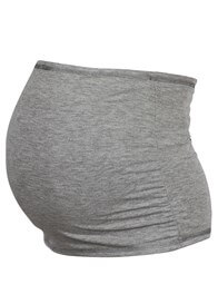 Queen Bee Reversible Maternity Belly Band in Grey/Creme by Trimester Clothing