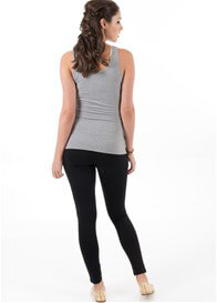 Queen Bee Grey Miracle Maternity Tank Top by Trimester Clothing