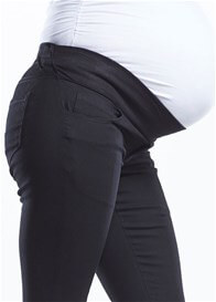 Queen Bee Maternity Denim Pants in Black by Soon Maternity