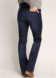 Queen Bee Bootcut Maternity Jeans in Dark Wash by Esprit