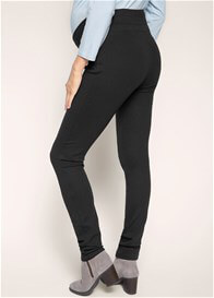 Queen Bee Ponte Maternity Treggings in Black by Esprit