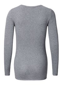 Queen Bee Fitted Maternity Knit Jumper in Grey by Esprit