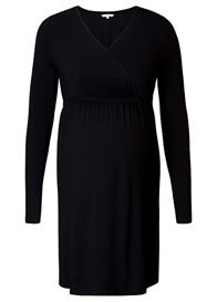 Queen Bee Jodi Maternity Nursing Dress in Black by Noppies