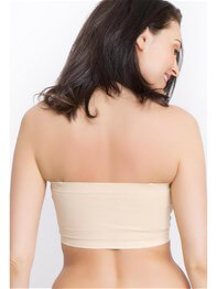 Queen Bee Seamless Strapless Maternity Nursing Bra by La Leche League