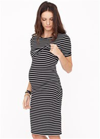 Queen Bee Mackenzie Maternity Nursing T-Shirt Dress by Dote Nursingwear