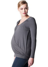 Queen Bee Ruby Crossover Maternity Nursing Top by Noppies