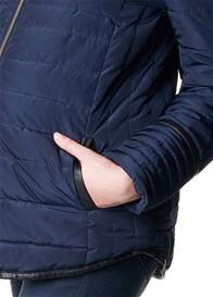 Queen Bee Aeris Padded Maternity Jacket in Blue by Noppies