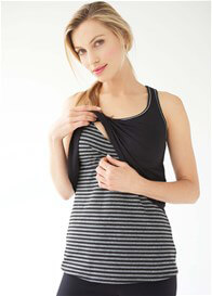 Queen Bee Layered Maternity Nursing Active Cami by Belabumbum