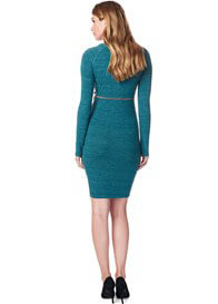 Queen Bee Jade Maternity Sweater Dress by Supermom