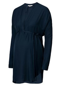 Queen Bee Gia Navy Blue Maternity Tunic by Noppies