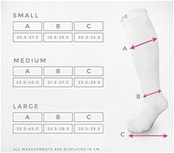 Queen Bee White Maternity Graduated Compression Socks by Venosure
