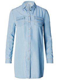 Queen Bee Victoria Chambray Maternity Shirt by Noppies