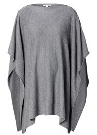 Queen Bee Fine Knit Nursing Cape in Grey by Esprit