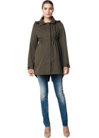 Queen Bee Olive Green Pregnancy Parka by Esprit