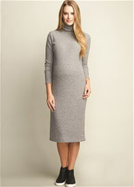 Queen Bee Turtleneck Maternity Sweater Dress by Maternal America