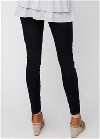 Queen Bee Distressed Black Maternity Jeggings by Ripe Maternity
