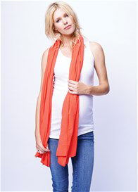 Queen Bee Nursing Scarf Cover in Coral by Maternal America